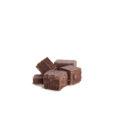 Молочный ремесленный кусковой шоколад 51% какао